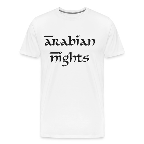 Arabian Nights (Glitter) - Mannen Premium T-shirt