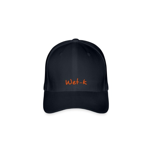 Wet-kasketRed - Casquette Flexfit