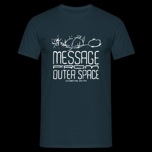 Message From Outer Space (white) - Koszulka męska