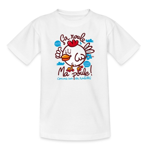 çà roule ma poule ? - tee shirt manches courtes - T-shirt Enfant