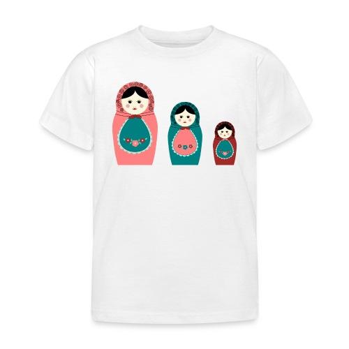Les poupées russes - tee shirt manches courtes - T-shirt Enfant