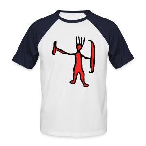 M-aaarghhh! the troglodyte - Men's Baseball T-Shirt