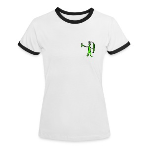 M-aaarghhh! the troglodyte - Women's Ringer T-Shirt