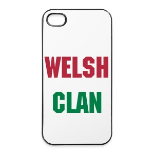 WELSH CLAN IPONE 4/4S CASE! - iPhone 4/4s Hard Case
