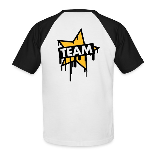 Fresh Ink Team skater tee - Men's Baseball T-Shirt