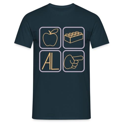 T-Shirt Melalegoaldito - Maglietta da uomo