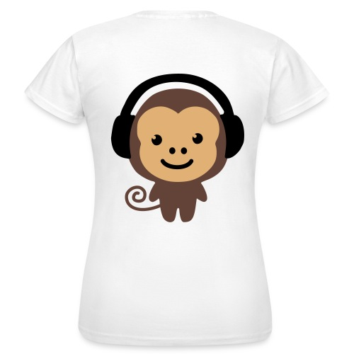Monkey DJ - Women's T-Shirt