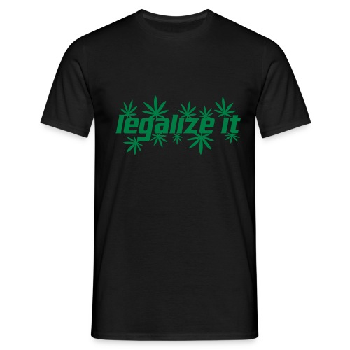 Fresh Ink legalize it tee - Men's T-Shirt