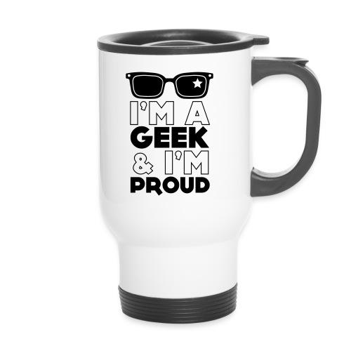 GAP Geek and proud Travel mug - Travel Mug