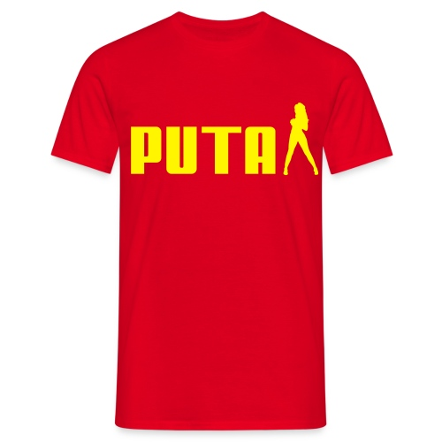 PUTA T-skjorte - T-skjorte for menn