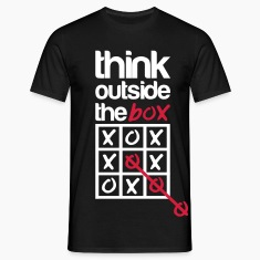 Think outside the box Tee shirts