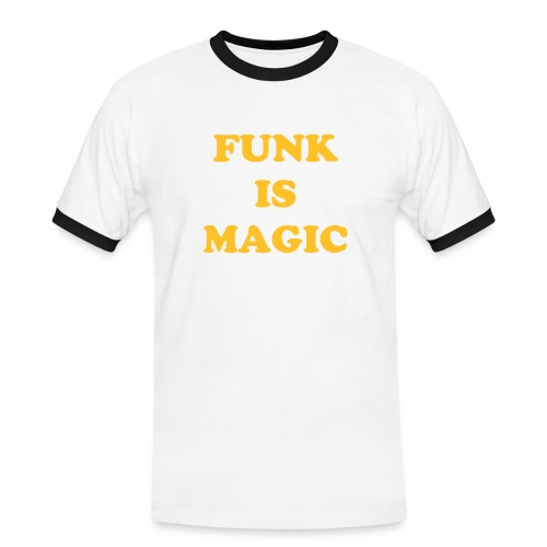 FUNK IS MAGIC - Men's Ringer Shirt