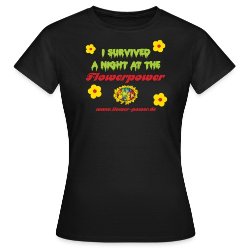 survived  - Frauen T-Shirt