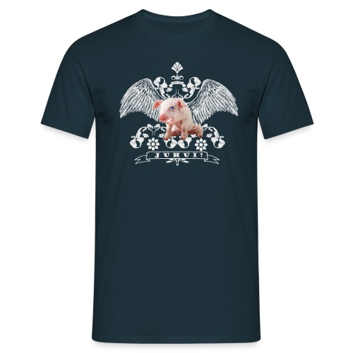 Schnitzelbank Fasnetgrupp Möhringen Männershirt - Männer T-Shirt