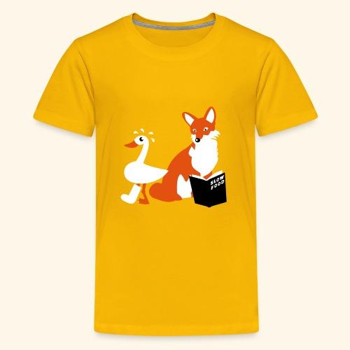 Slow Food, Teenie - Teenager Premium T-Shirt