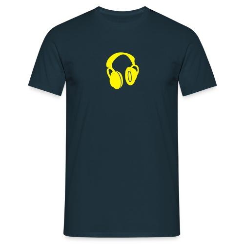 HP - Navy/Yellow - Männer T-Shirt