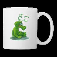 Tassen & Zubehör ~ Tasse ~ Henkeltasse mit Marsmännchen-Motiv