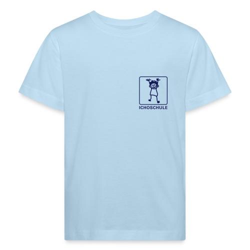 Ichoschule T-Shirt weiß organic - Kinder Bio-T-Shirt