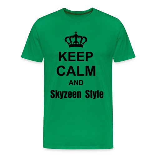 Keep Calm and Skyzeen Style - T-shirt Premium Homme