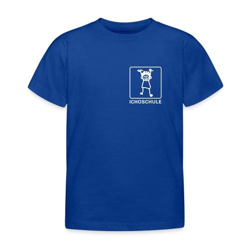 Ichoschule T-shirt blau - Kinder T-Shirt