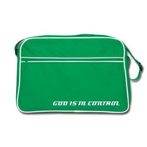 God Is In Control - Retro-Bag - Retro Tasche