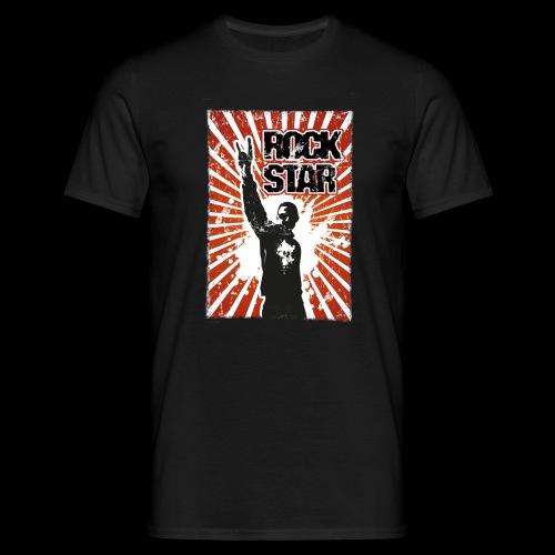 ROCKSTAR Metalhead v1 - Männer T-Shirt