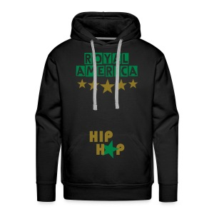 Royal America HIP-HOP - Sweat-shirt à capuche Premium pour hommes