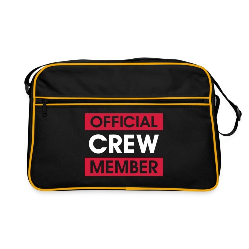 Crew Member Tasche - blau - Retro Tasche