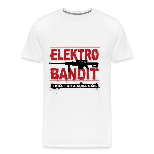 Elektro Bandit - Männer Premium T-Shirt