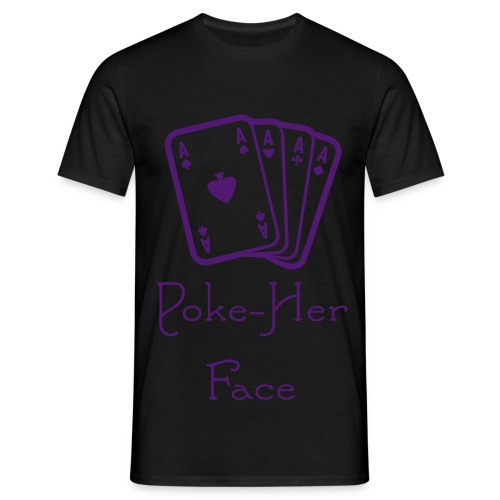 Poker-Her-Face - Men's T-Shirt
