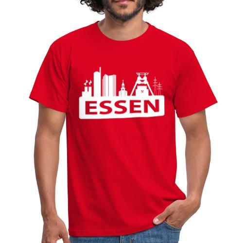 Skyline Essen - T-Shirt - Männer T-Shirt