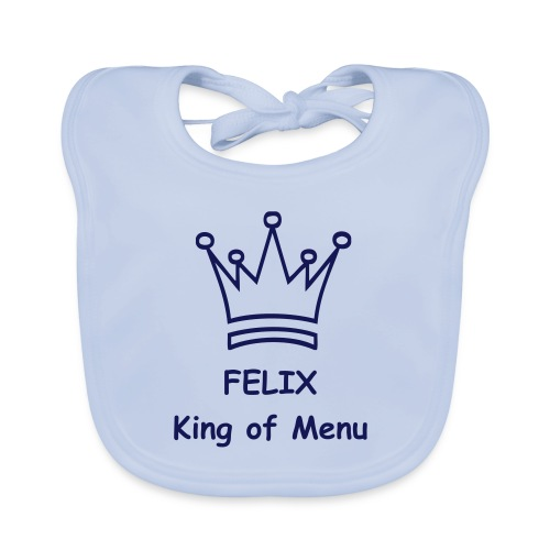 Felix - King of Menu - Baby Bio-Lätzchen