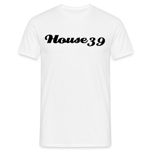 House39-White/black - Männer T-Shirt