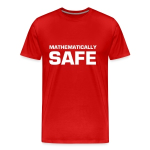 Mathematically Safe - Men's Premium T-Shirt