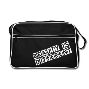 Beauty Is Different Bag - Retro Bag