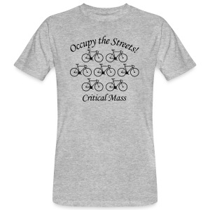 Occupy the Streets! Critical Mass - Männer Bio-T-Shirt