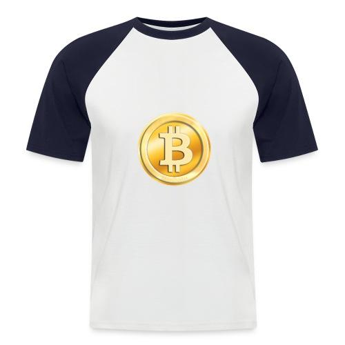 BitCoin - Men's Baseball T-Shirt