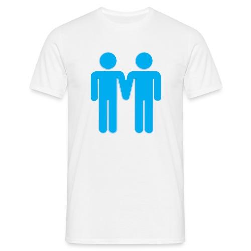 Gay Men Illustration - Men's T-Shirt