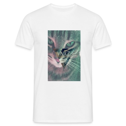 Cat VNXZ#Shirt - Männer T-Shirt
