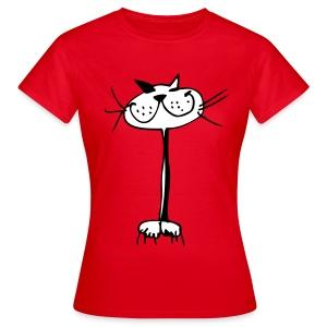Katzen T-Shirt klassisch - Frauen T-Shirt