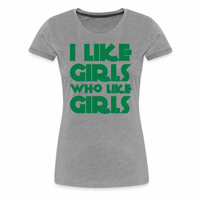Pride Shop - I like Girls