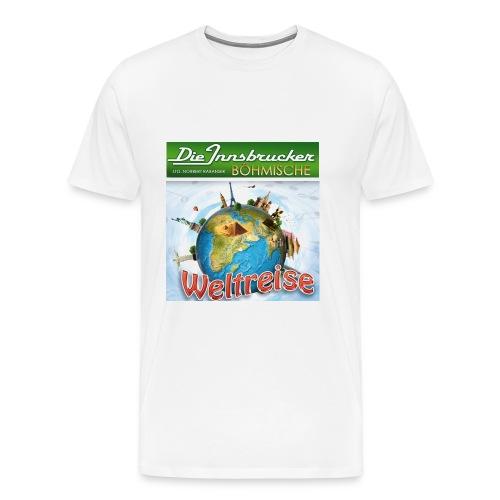 Innsbrucker Böhmische  Weltreise Tour 2013 - Mannen Premium T-shirt
