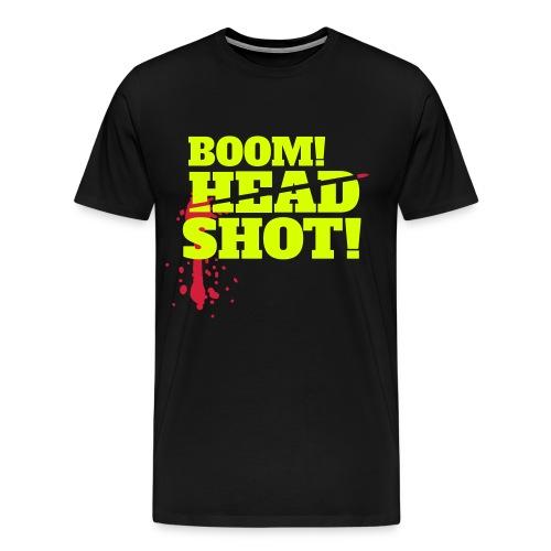BOOOM! HEADSHOT! - Männer Premium T-Shirt