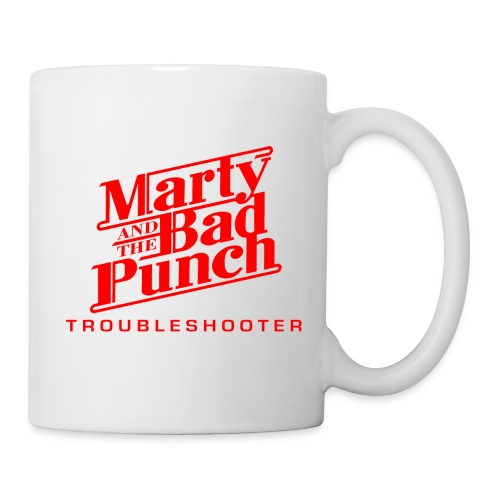 Coffe Mug - Marty & The Bad Punch - red Logo  - Mug
