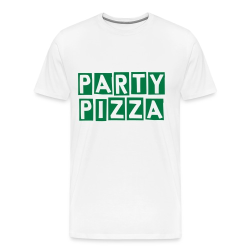 Party Pizza - Men's Premium T-Shirt