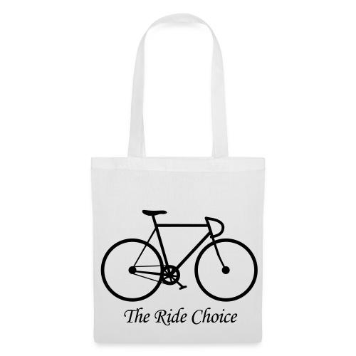 Tasche The Ride Choice - Stoffbeutel