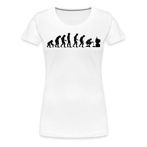 Evolution Of Gaming - Premium T-skjorte for kvinner