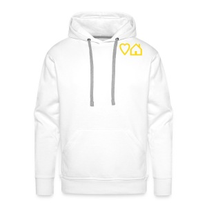 Love House + Tribalmixes on Back - Overhead Hoodie - Men's Premium Hoodie