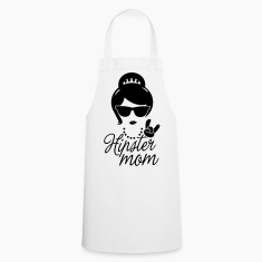 Like a i love hipster mother mom mother's day  Aprons