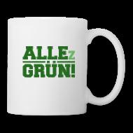 Tassen & Zubehör ~ Tasse ~ ALLEz GRÜN! - Tasse